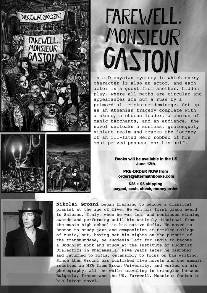 Farewell, Monsieur Gaston by Nikolai Grozni